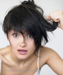Rambut rontok2 - Gadis