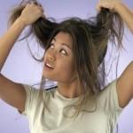 Rambut Kering - Gadis