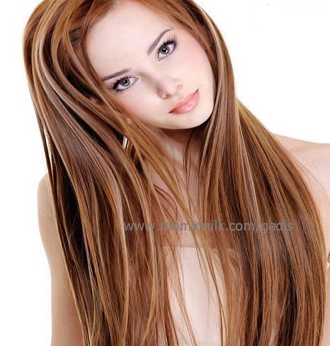 merawat rambut panjang - gadis